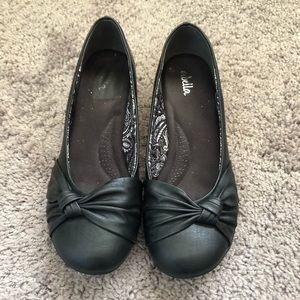 Abella Black Ballet Flats